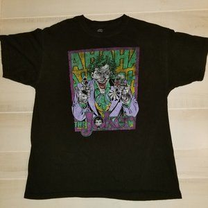 Joker comic tshirt